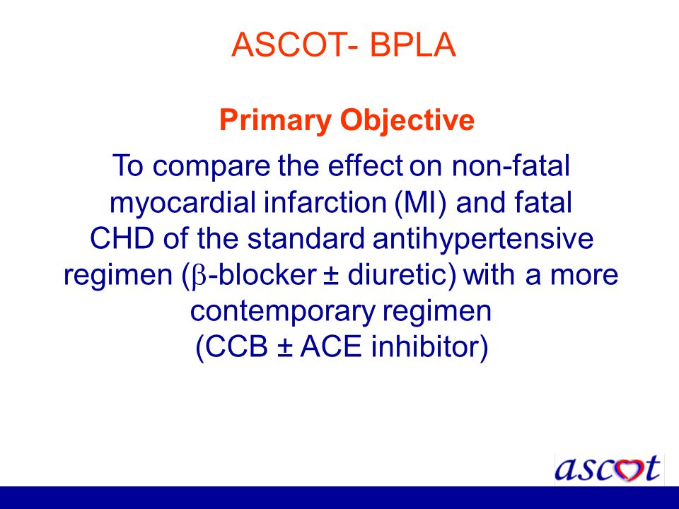 ASCOT- BPLA Primary Objective