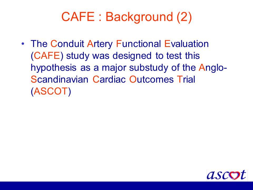 CAFE : Background (2)