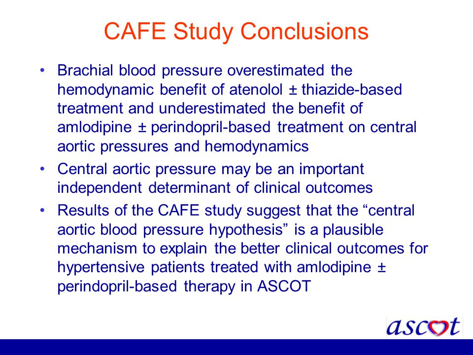 CAFE Study Conclusions