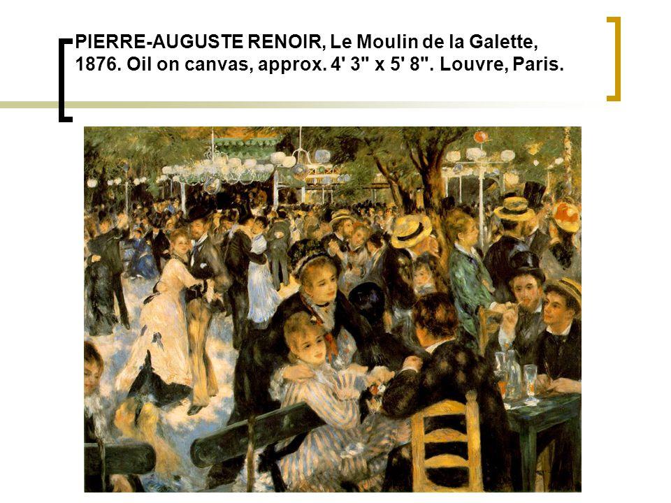 PIERRE-AUGUSTE RENOIR, Le Moulin de la Galette, 1876