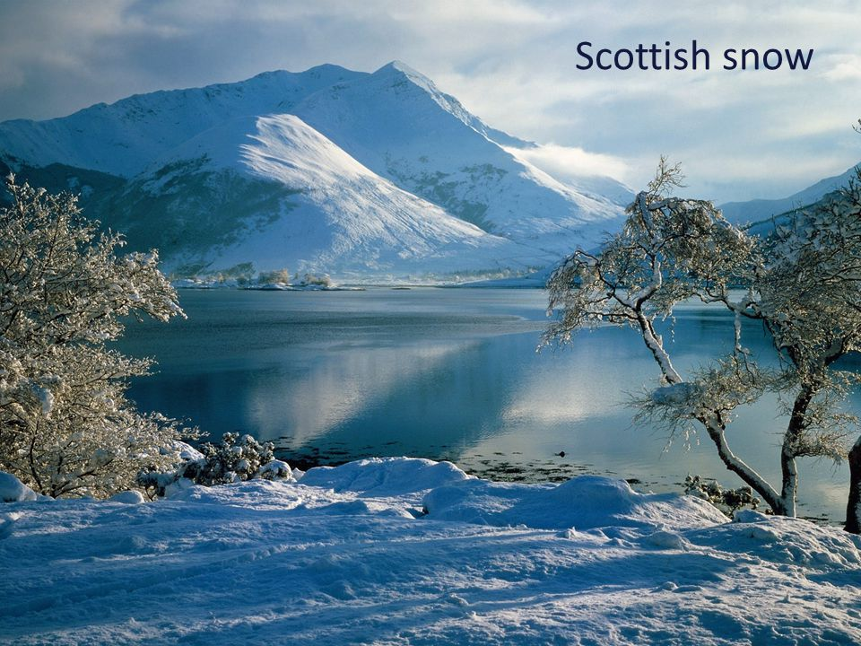 Scottish snow