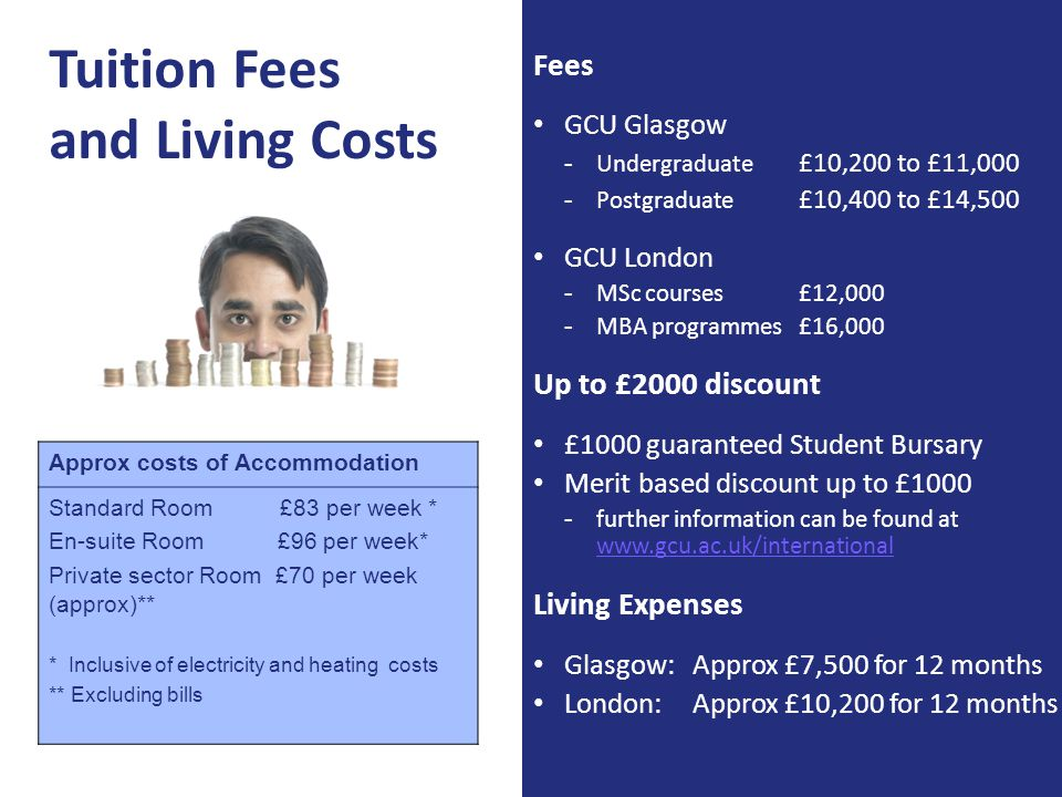 Tuition Fees and Living Costs