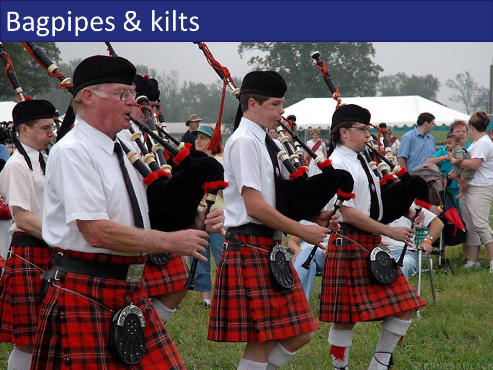 Bagpipes & kilts