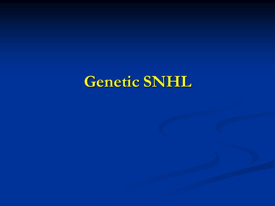 Genetic SNHL