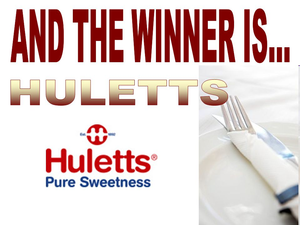 AND THE WINNER IS... HULETTS