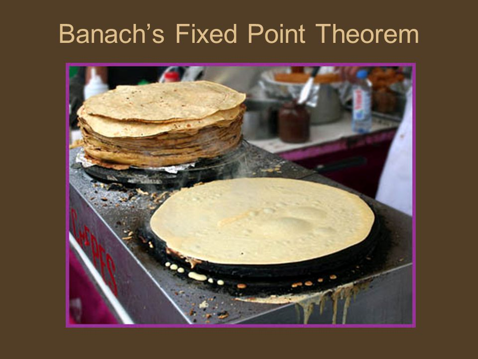 Banach's Fixed Point Theorem