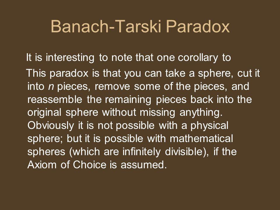 Banach-Tarski Paradox