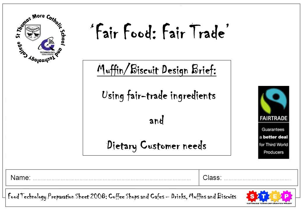 'Fair Food: Fair Trade'