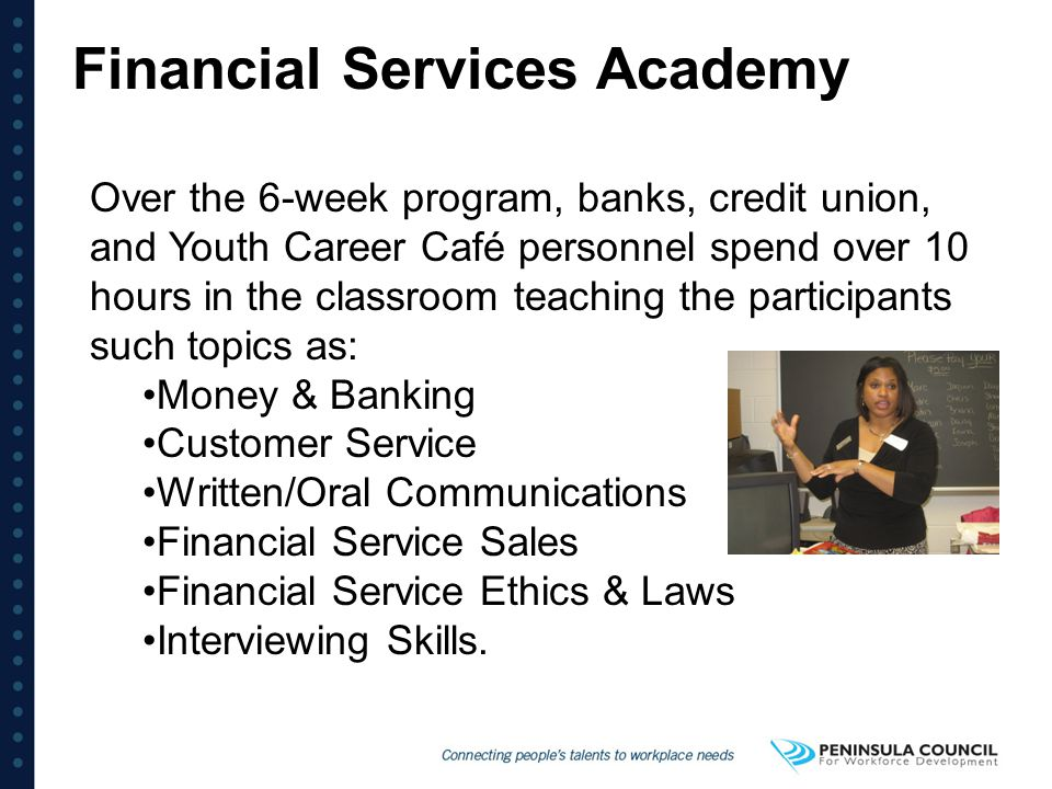 Financial Services Academy