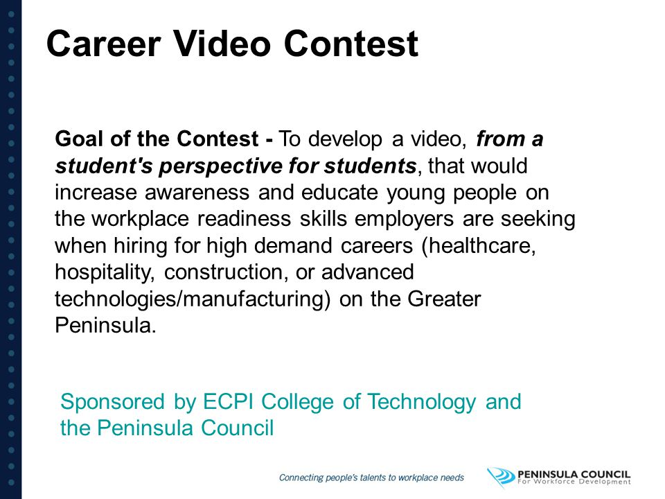 Career Video Contest