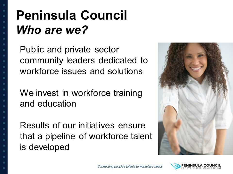 Peninsula Council Who are we