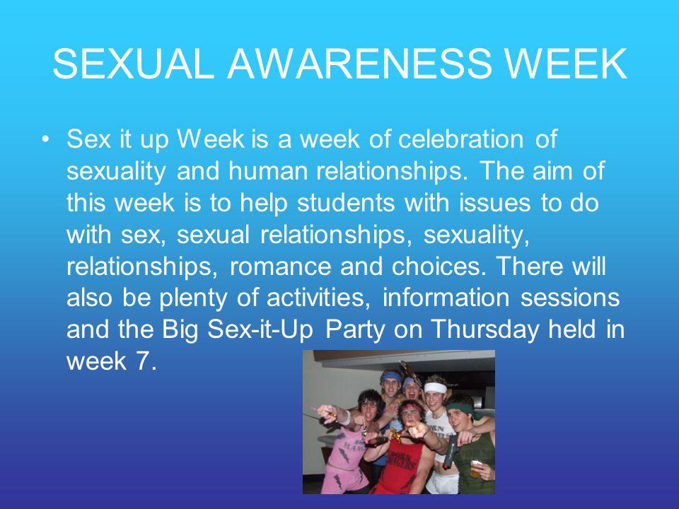 SEXUAL AWARENESS WEEK