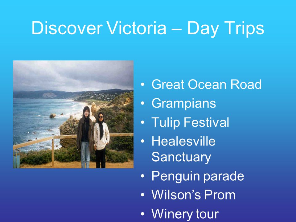 Discover Victoria – Day Trips