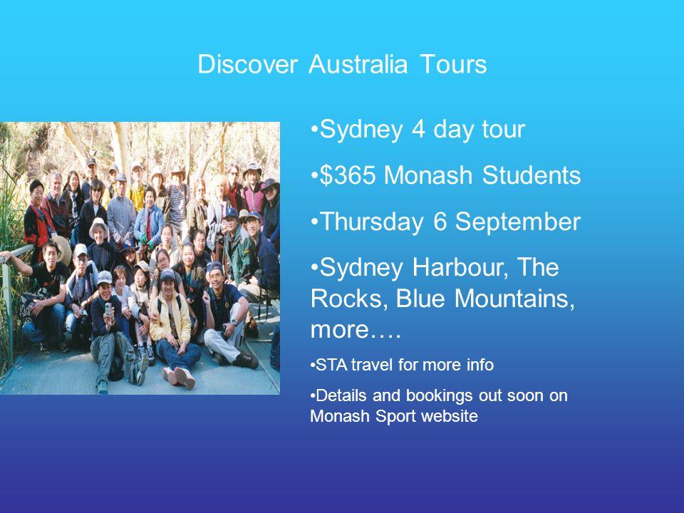 Discover Australia Tours