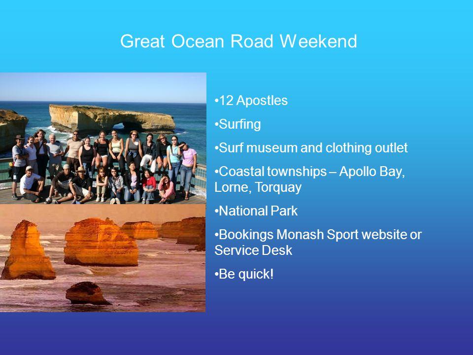 Great Ocean Road Weekend