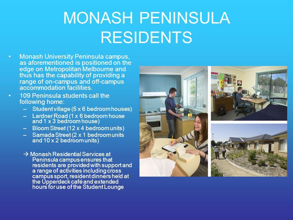 MONASH PENINSULA RESIDENTS