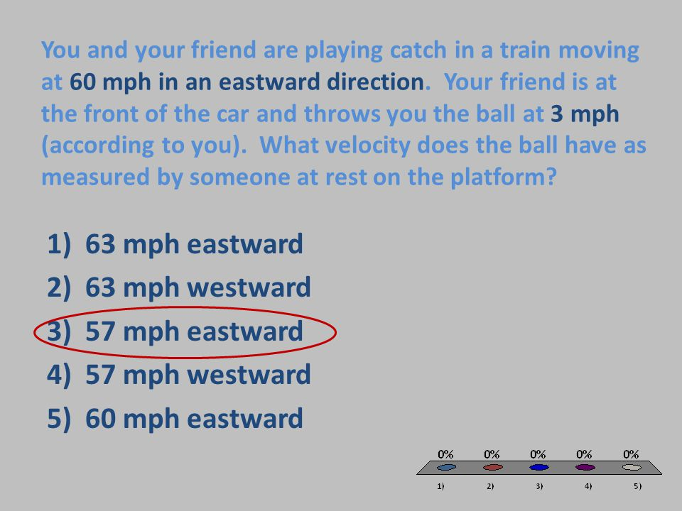 63 mph eastward 63 mph westward 57 mph eastward 57 mph westward