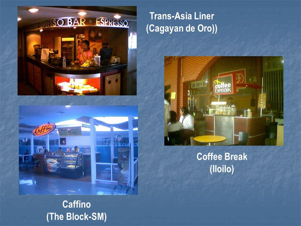 Trans-Asia Liner (Cagayan de Oro)) Caffino (The Block-SM)