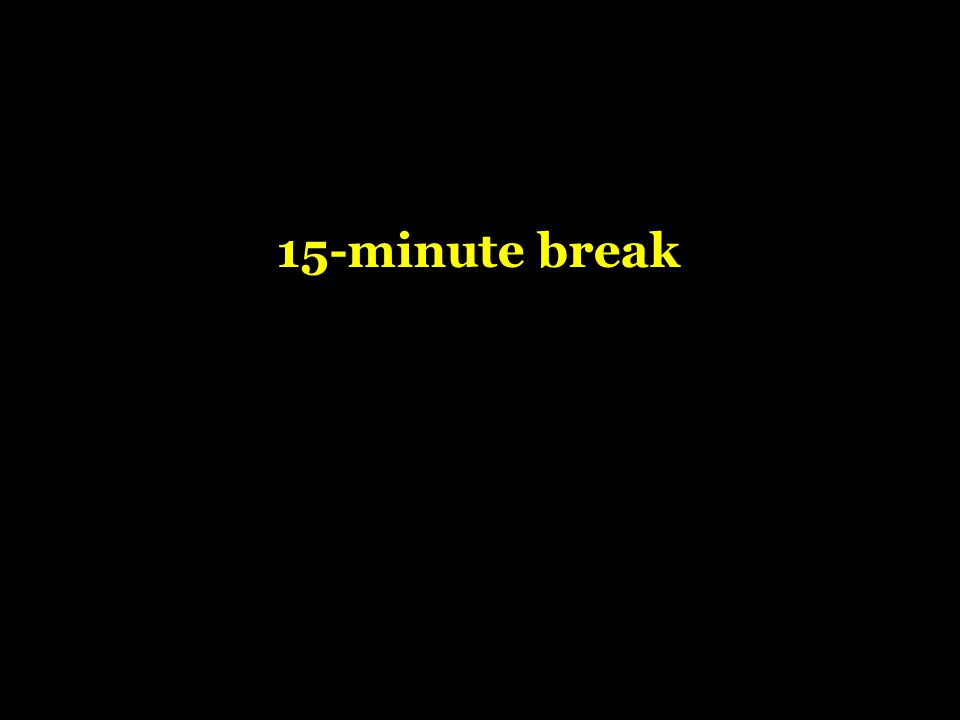 15-minute break