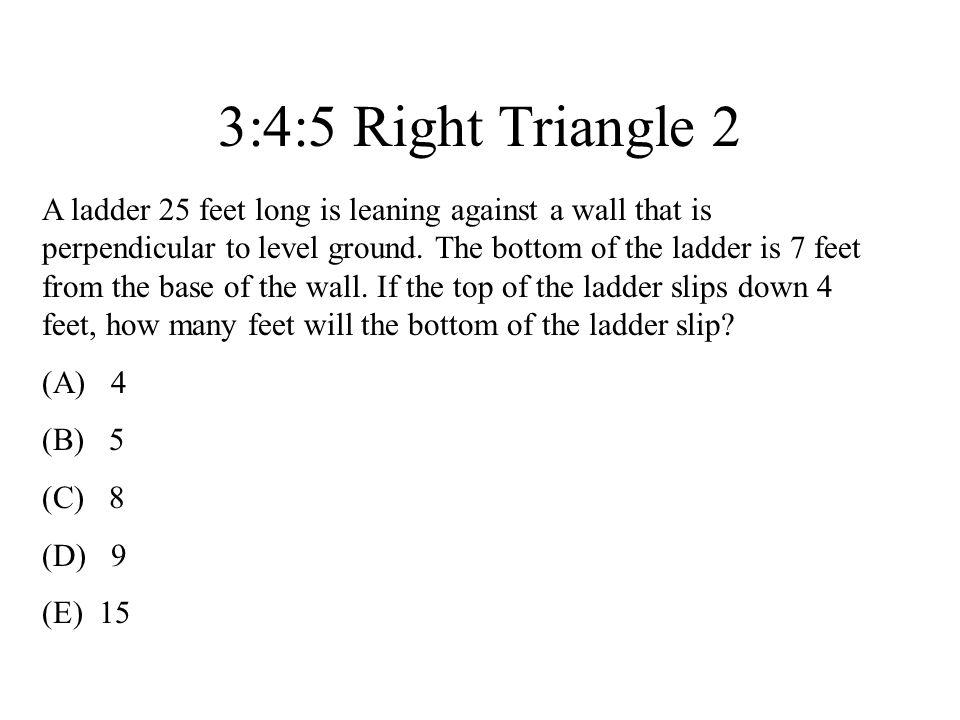 3:4:5 Right Triangle 2