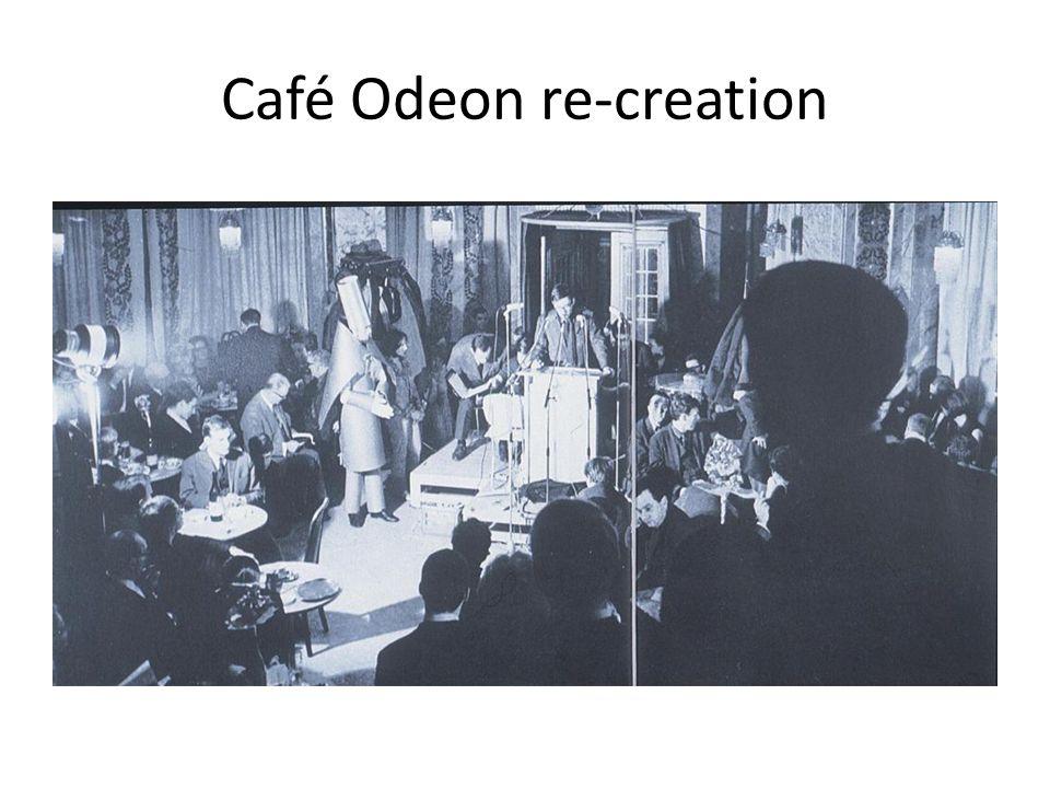 Café Odeon re-creation