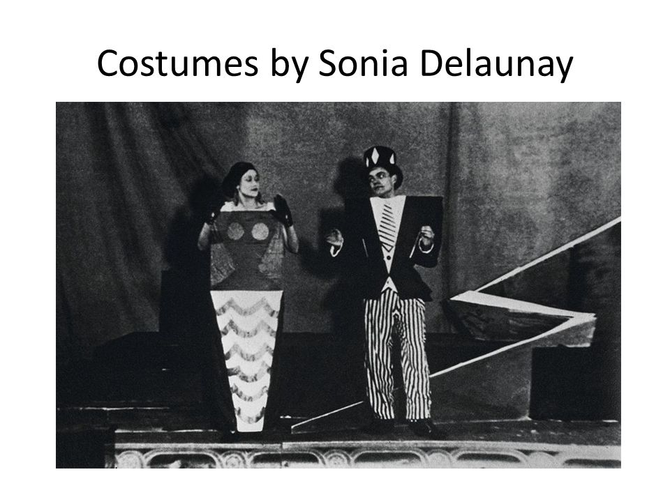 Costumes by Sonia Delaunay