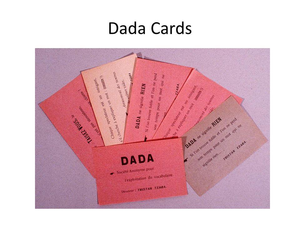 Dada Cards