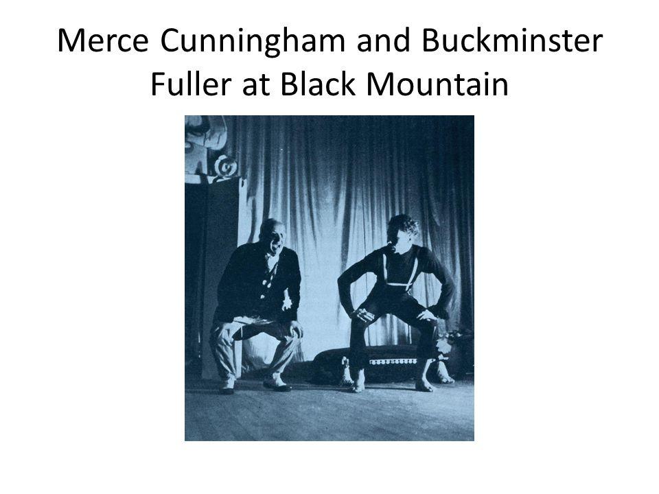 Merce Cunningham and Buckminster Fuller at Black Mountain
