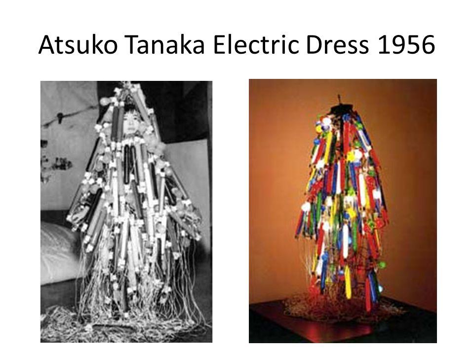Atsuko Tanaka Electric Dress 1956