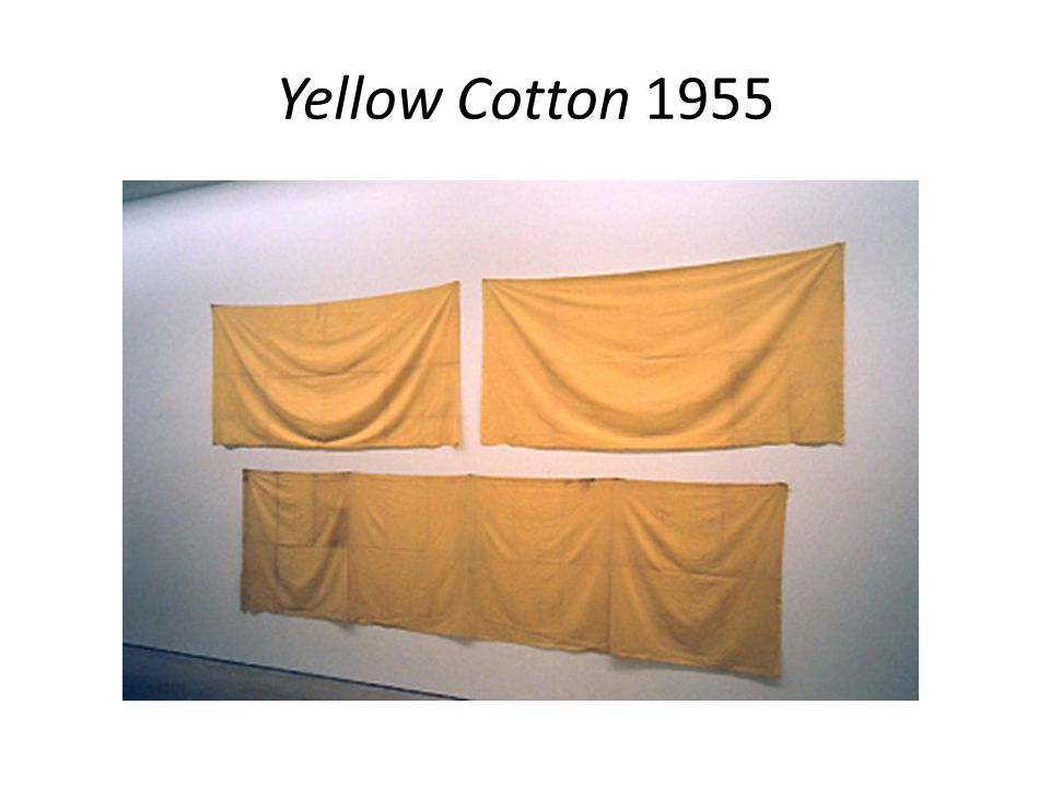 Yellow Cotton 1955