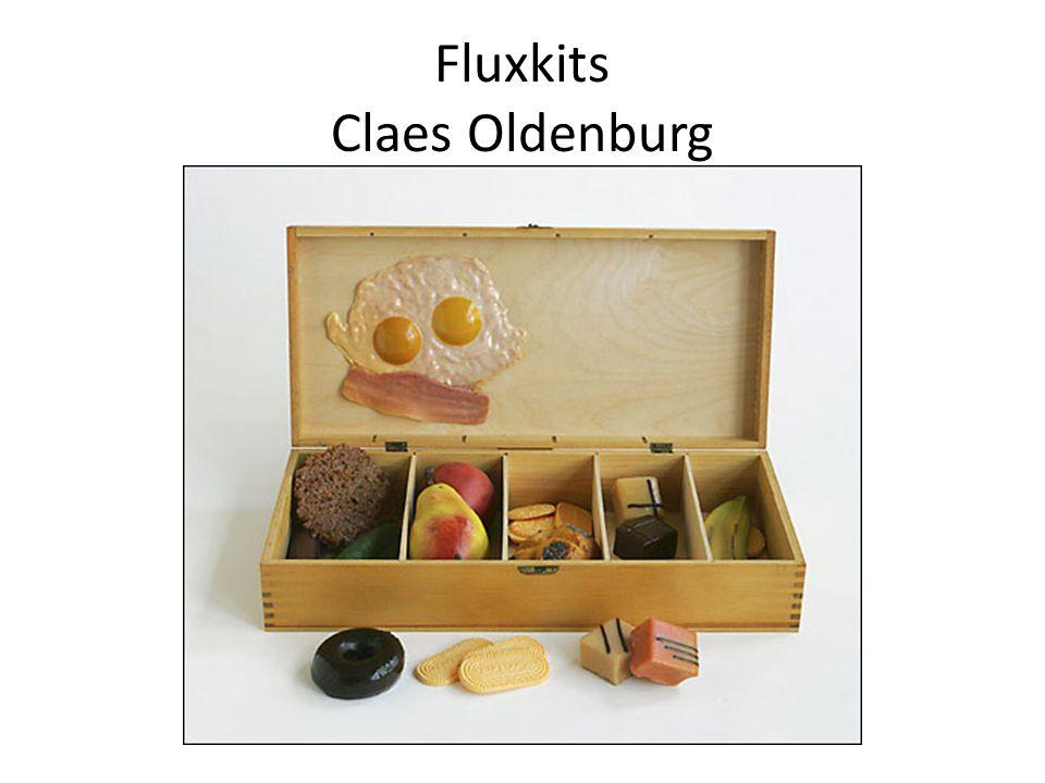 Fluxkits Claes Oldenburg