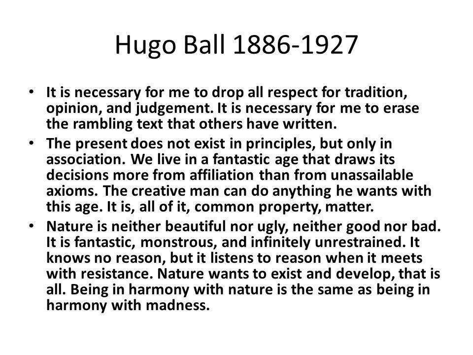 Hugo Ball 1886-1927