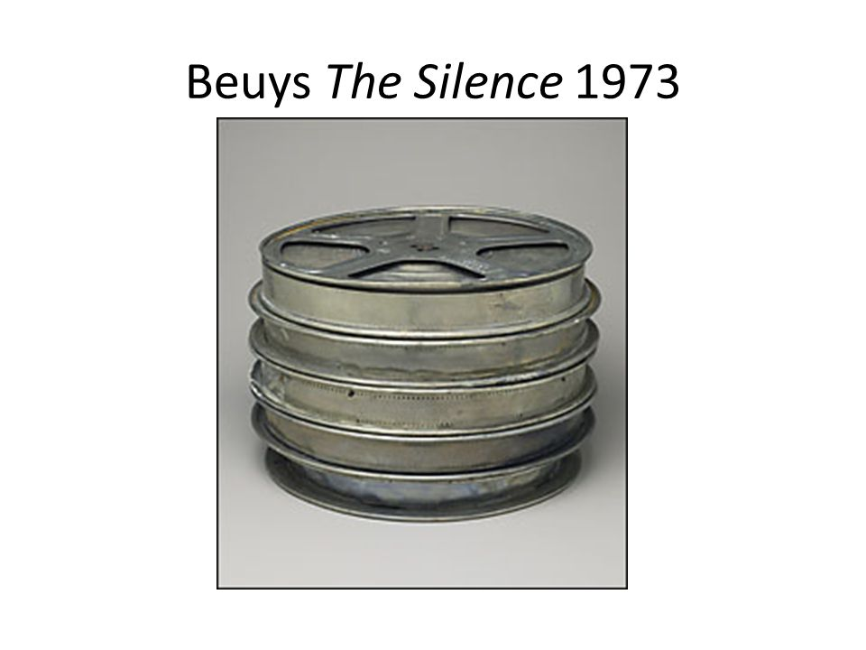Beuys The Silence 1973