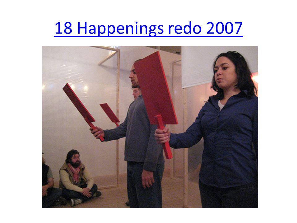18 Happenings redo 2007