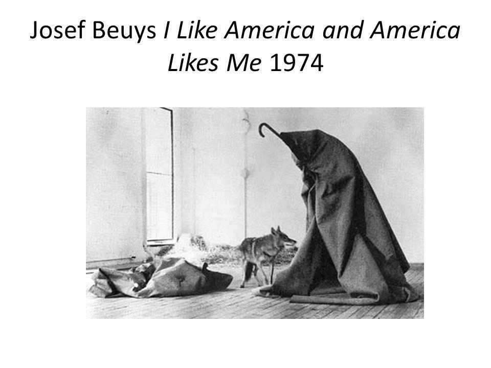 Josef Beuys I Like America and America Likes Me 1974