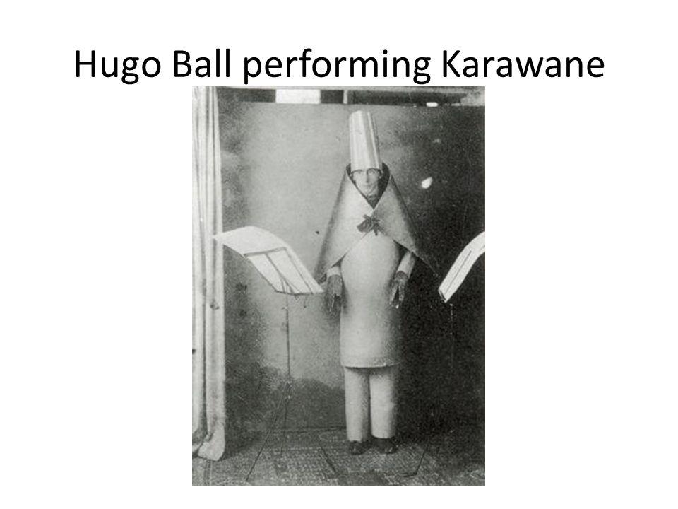 Hugo Ball performing Karawane
