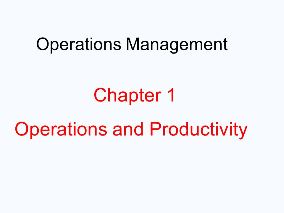 """hard rock operations management and productivity What is """"operations management"""" (and why should you care)  global company profile: hard rock cafe operations  operations management flow chart 2012-2013."""
