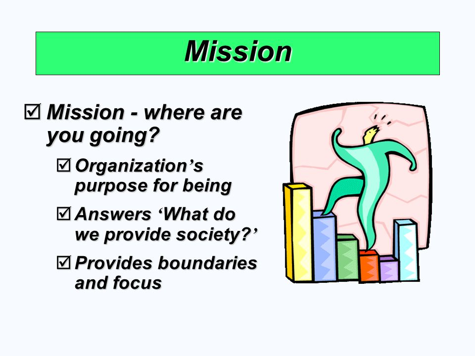 Mission Mission - where are you going