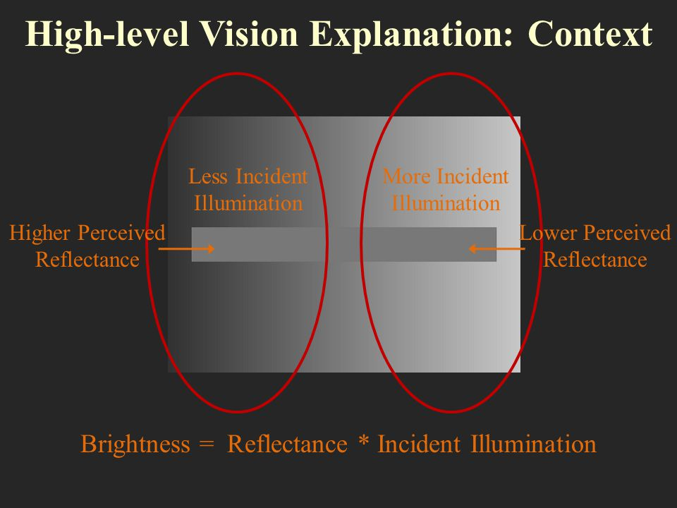 High-level Vision Explanation: Context