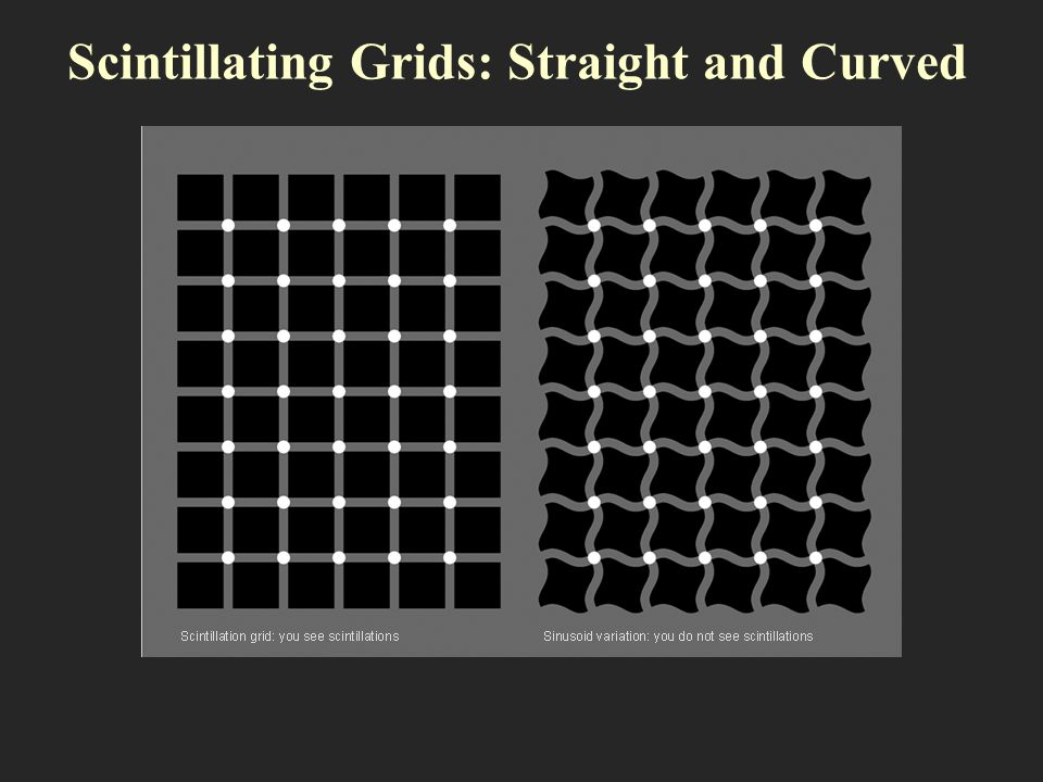 Scintillating Grids: Straight and Curved