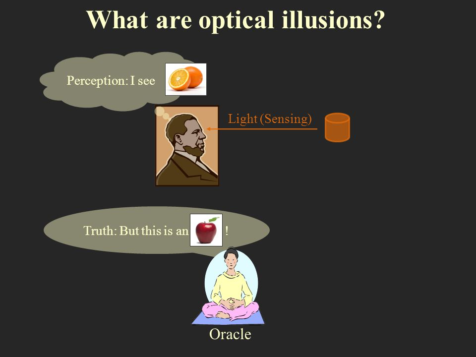 What are optical illusions