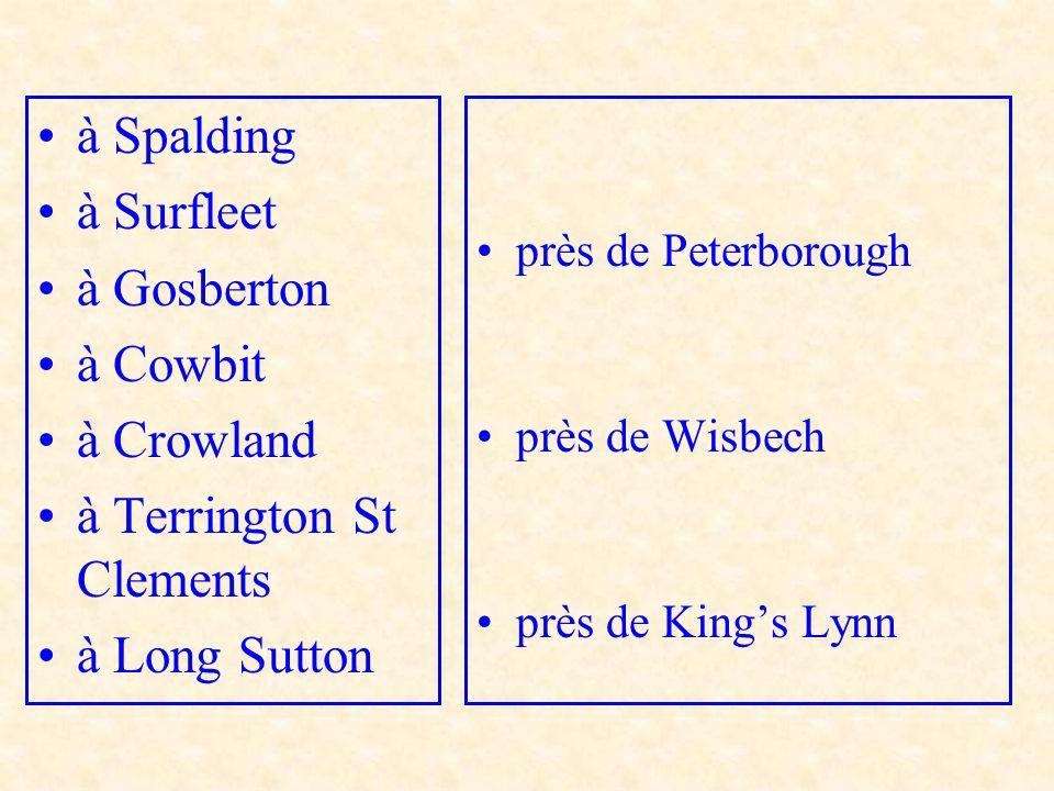 à Terrington St Clements à Long Sutton