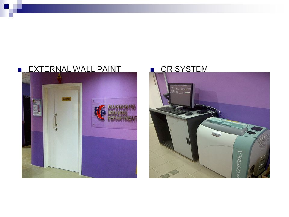 EXTERNAL WALL PAINT CR SYSTEM