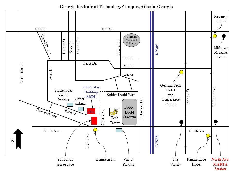 Georgia Institute of Technology Campus, Atlanta, Georgia