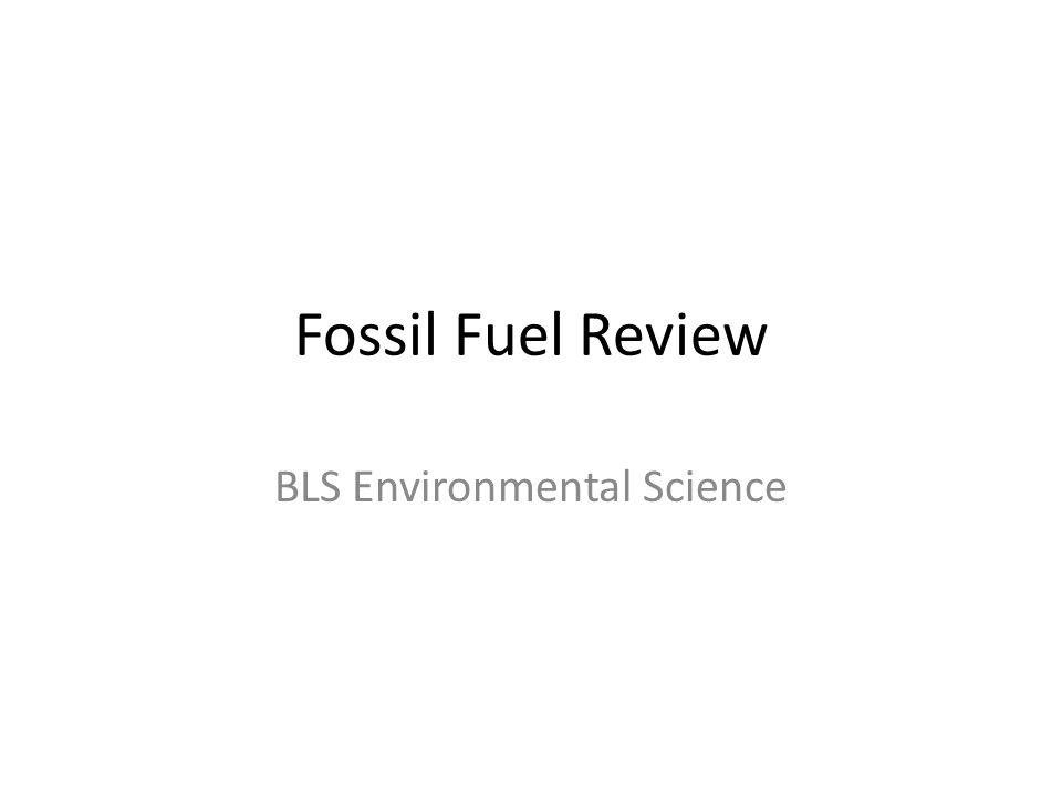 BLS Environmental Science