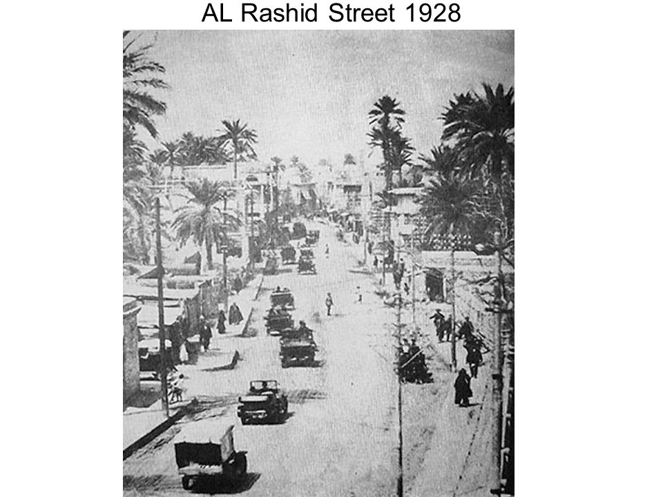 AL Rashid Street 1928