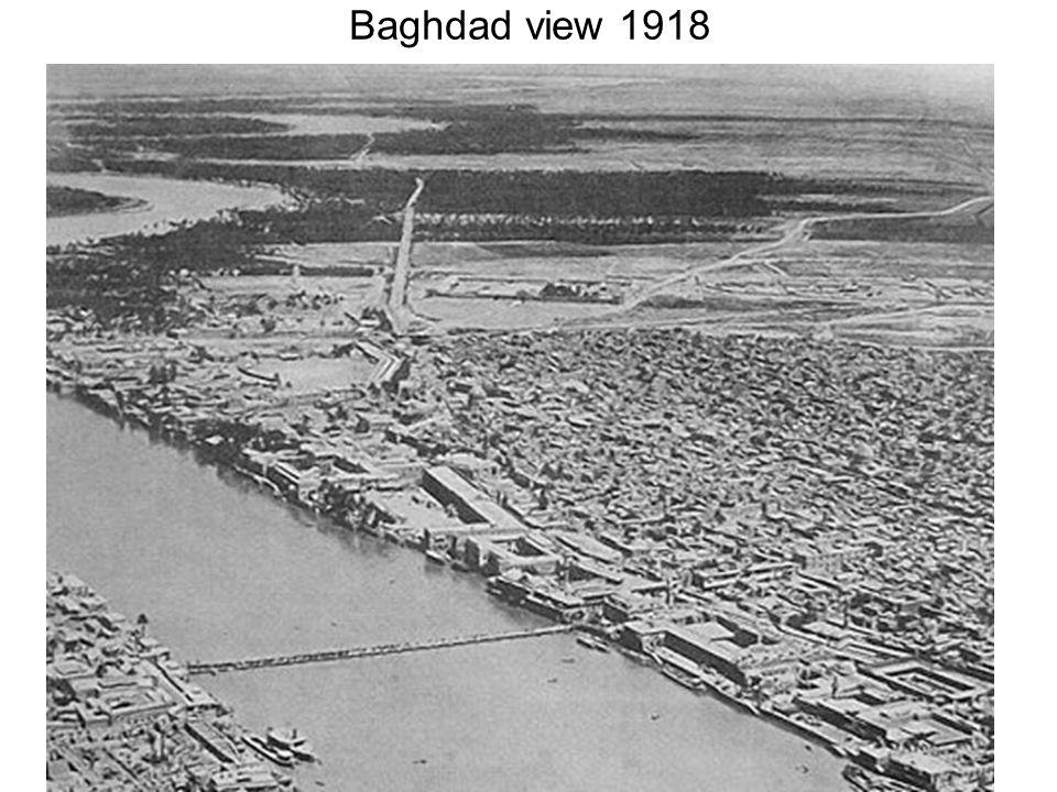 Baghdad view 1918