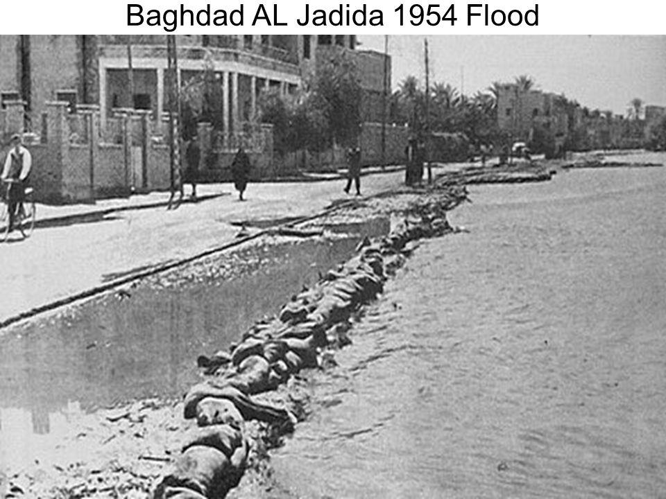Baghdad AL Jadida 1954 Flood