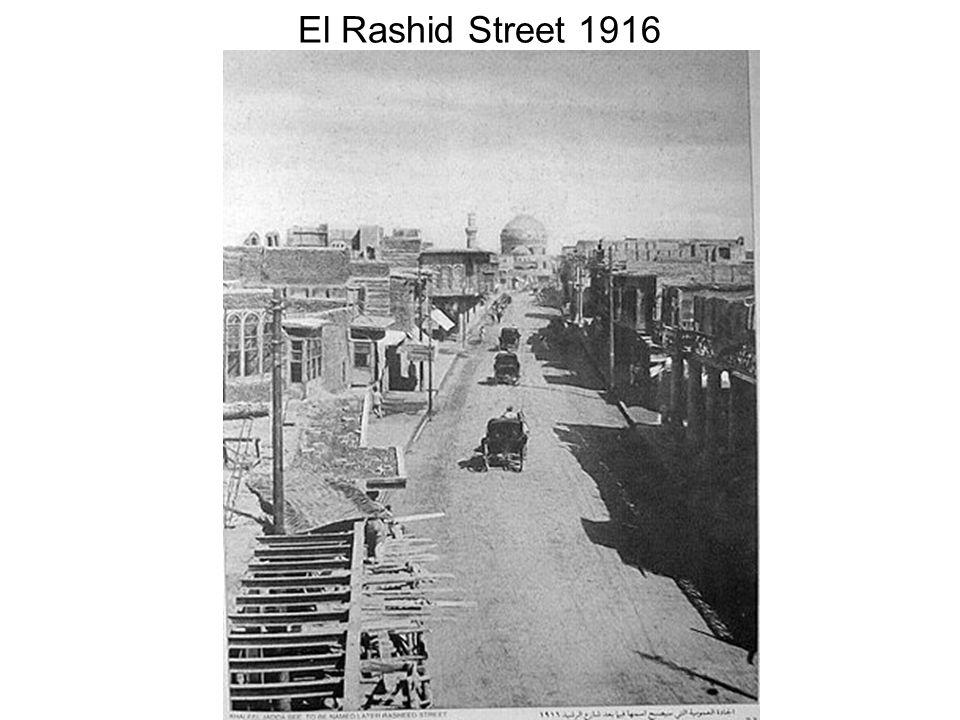 El Rashid Street 1916
