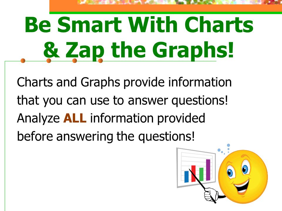 Be Smart With Charts & Zap the Graphs!